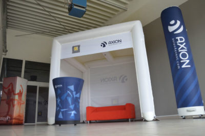 cube axion tent